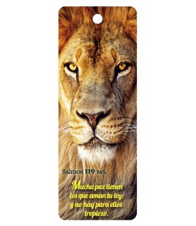 3D bookmark (Lion)