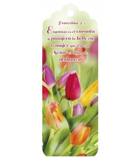 3D bookmark (Tulips)