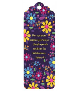 3D bookmark (Vivid colors)